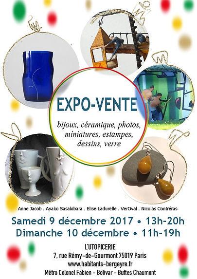 Expo-Vente a L Utopicerie mai 2014