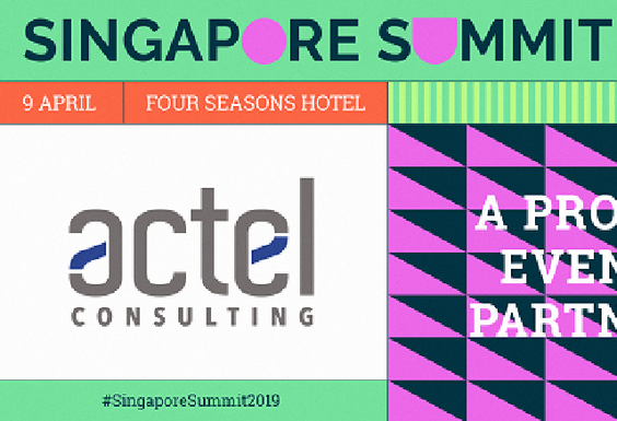 Actel Consulting, Event Partner at the Singapore Summit 2019