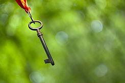 Hanging key - coaching and mentoring sym