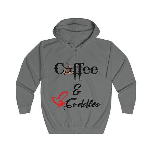 Coffee & Cuddles Zip Hoodie
