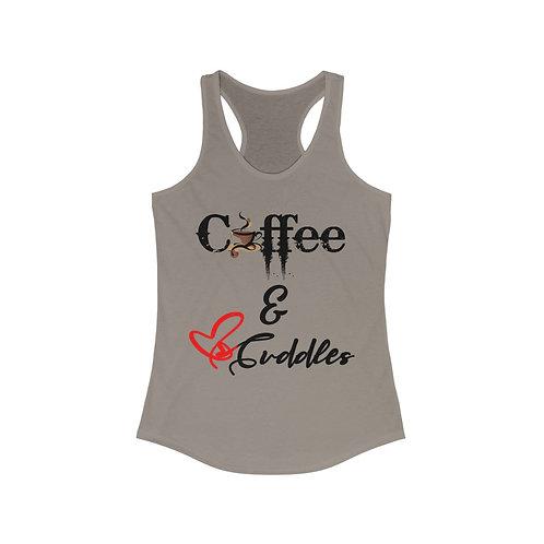 Coffee & Cuddles Women's Racerback Tank
