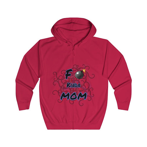 F Bomb Mom Zip Hoodie