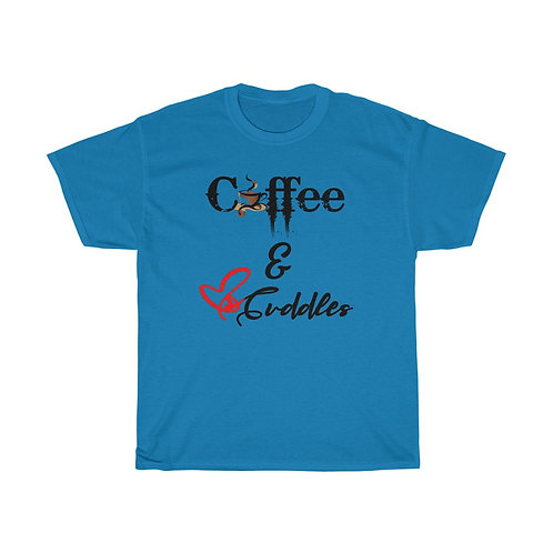 Coffee & Cuddles Unisex Tee