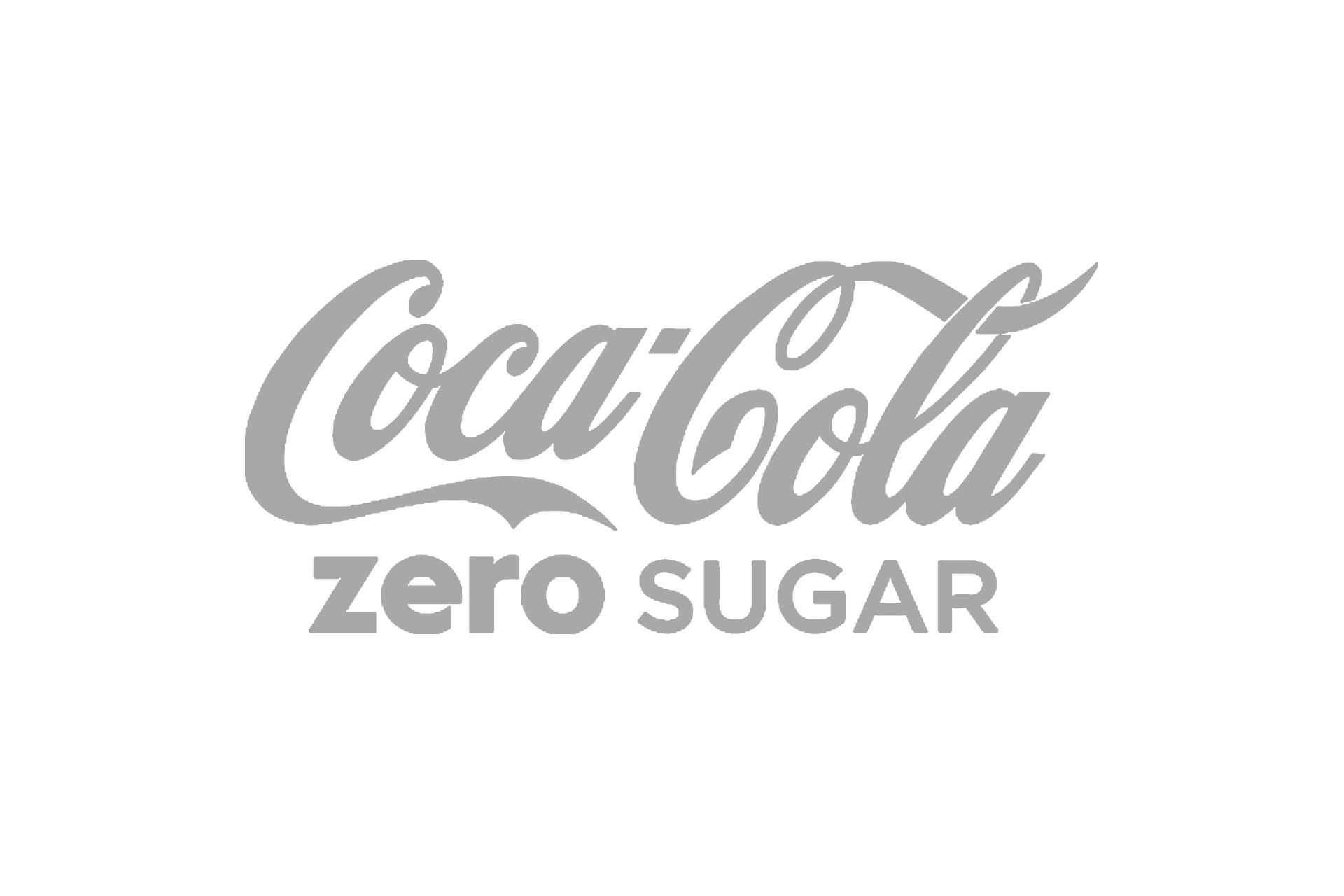 coca cola zero sugar grey