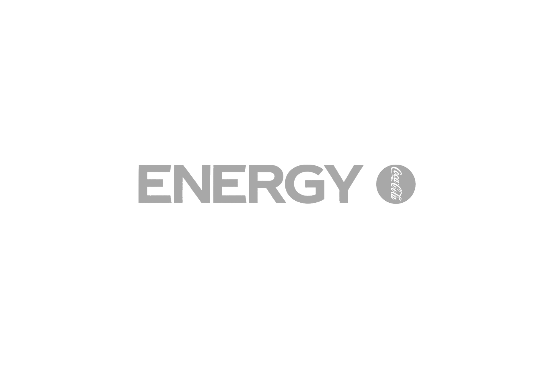 coca cola energy logo grey