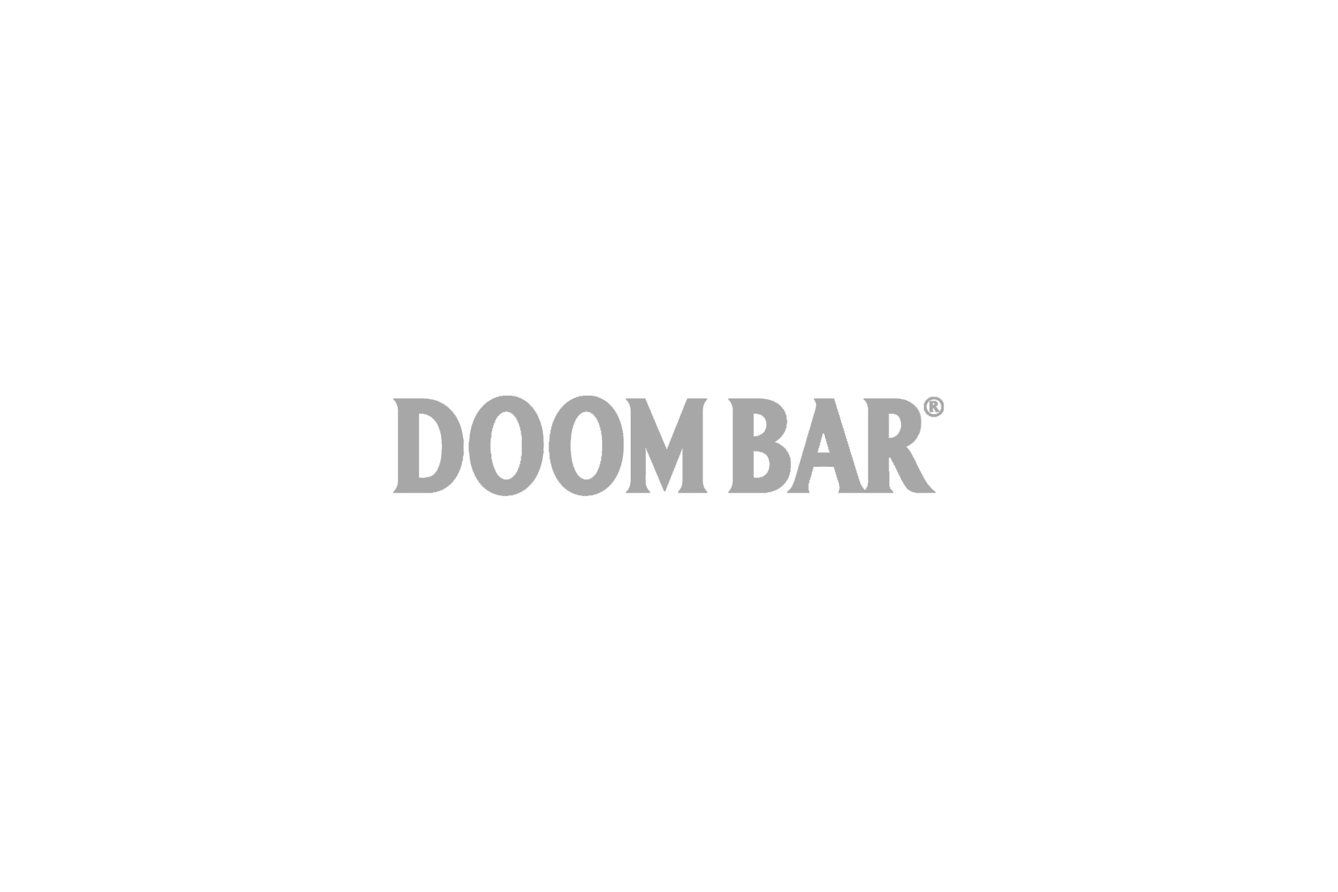 doom bar logo grey
