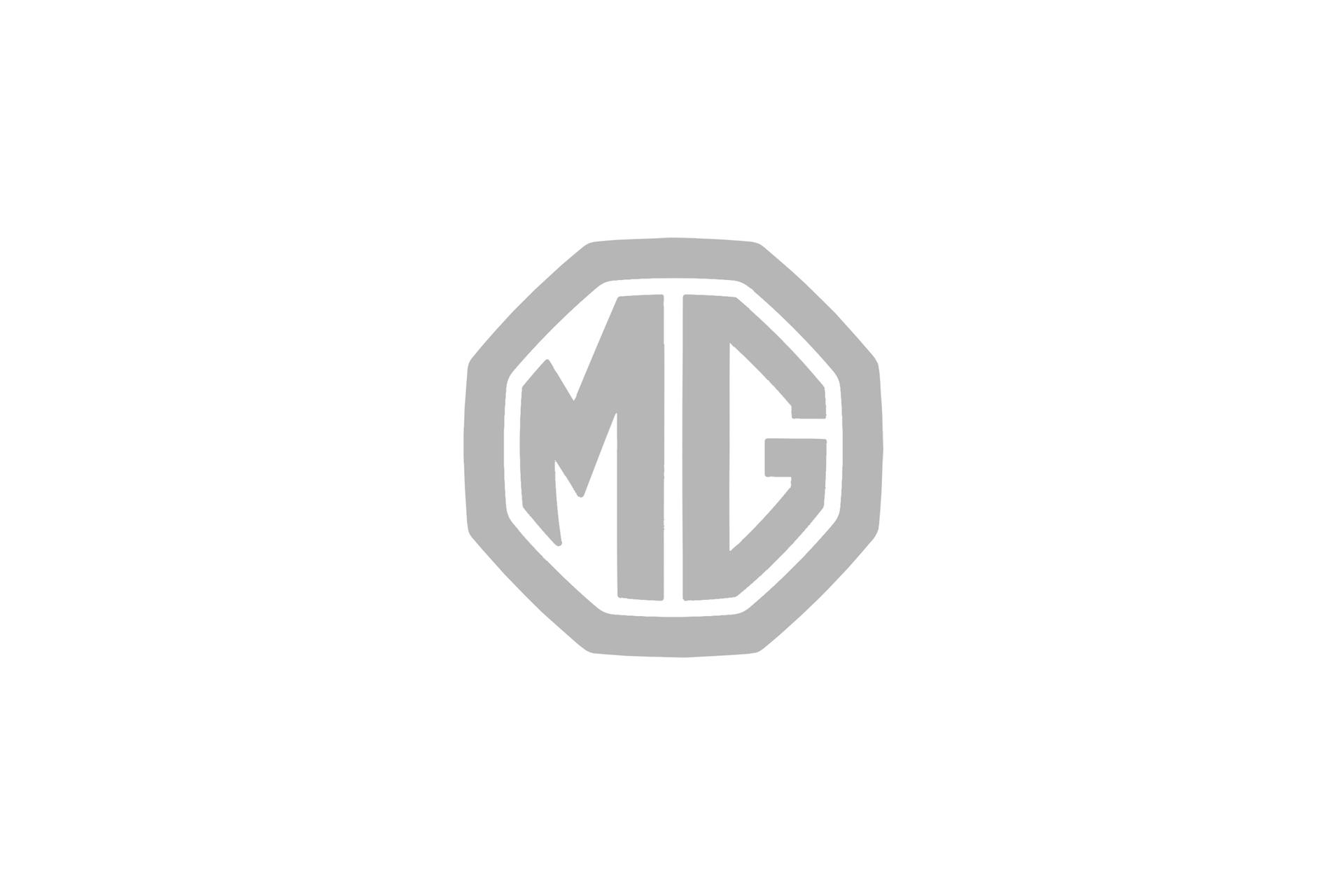 MG logo grey