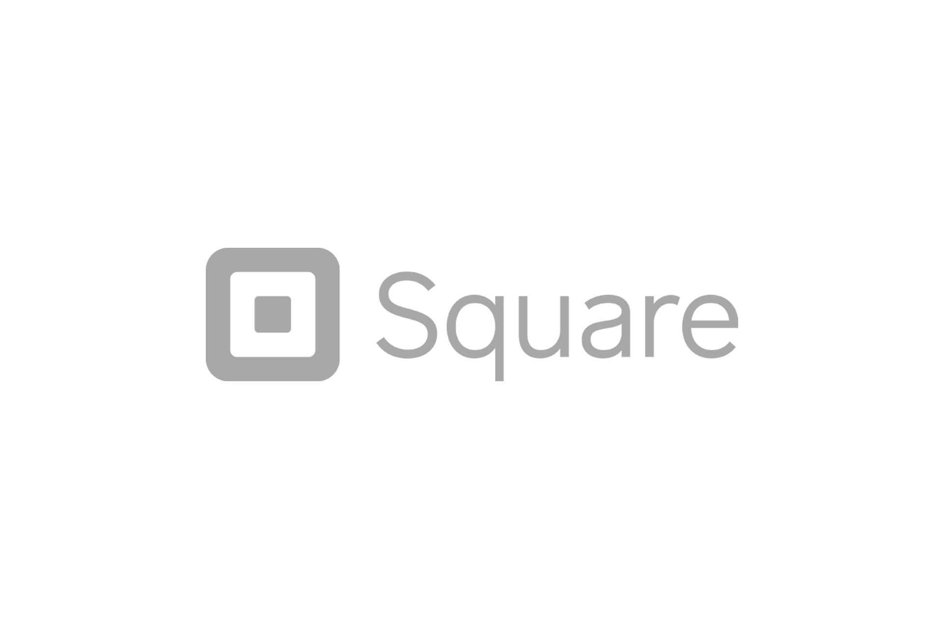 square logo grey