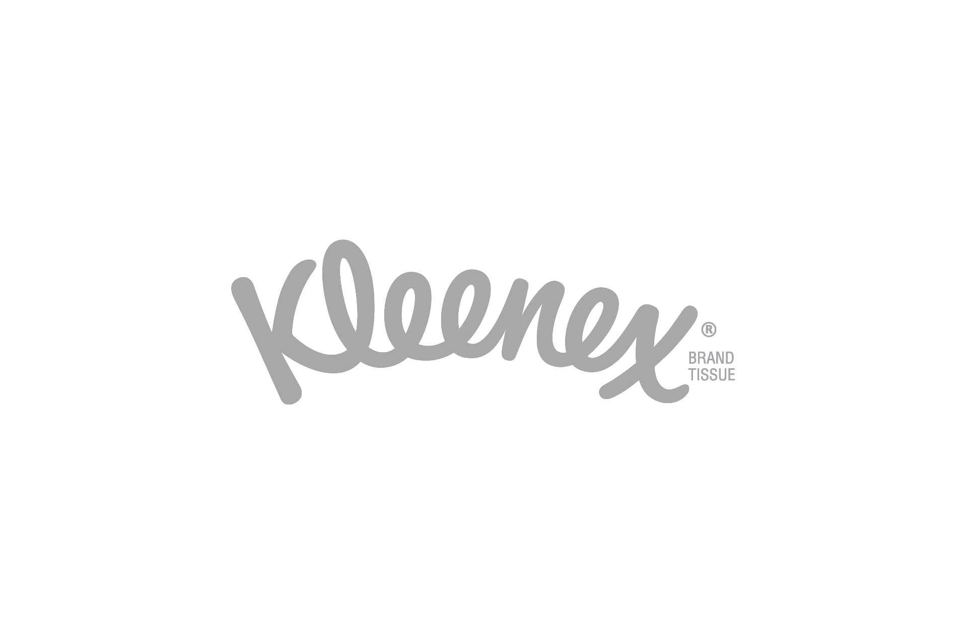 Kleenex logo grey