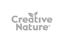creative nature logo grey