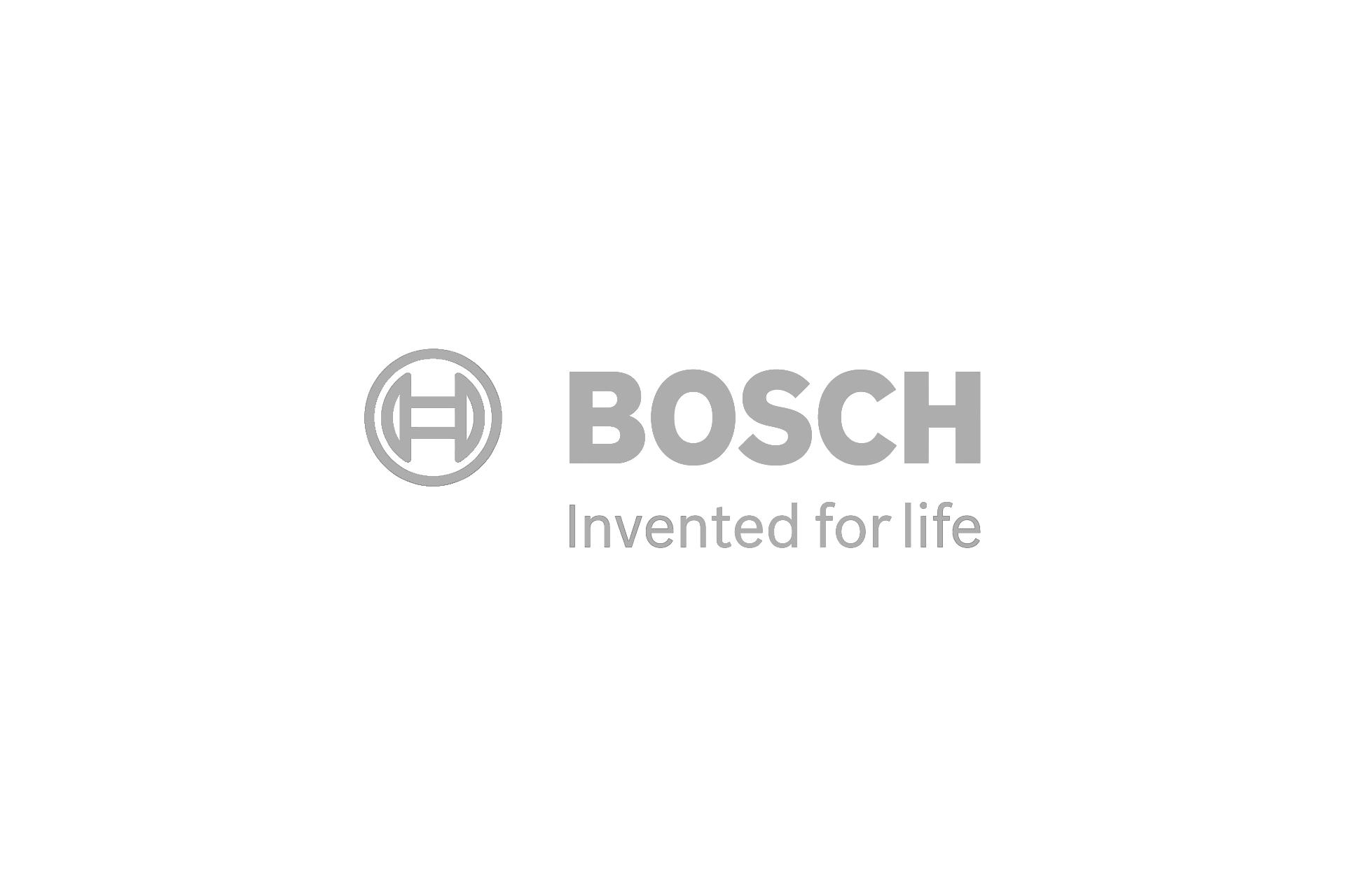 bosch logo grey