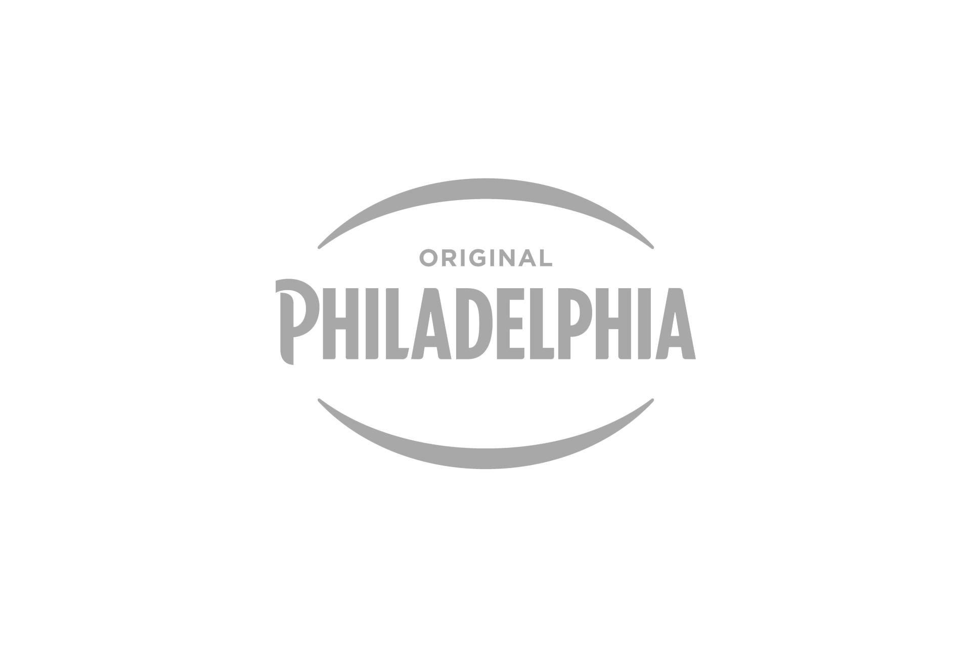 philadelphia logo grey
