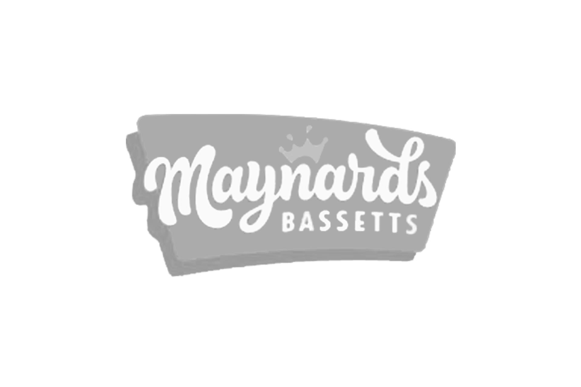 maynards bassetts logo grey