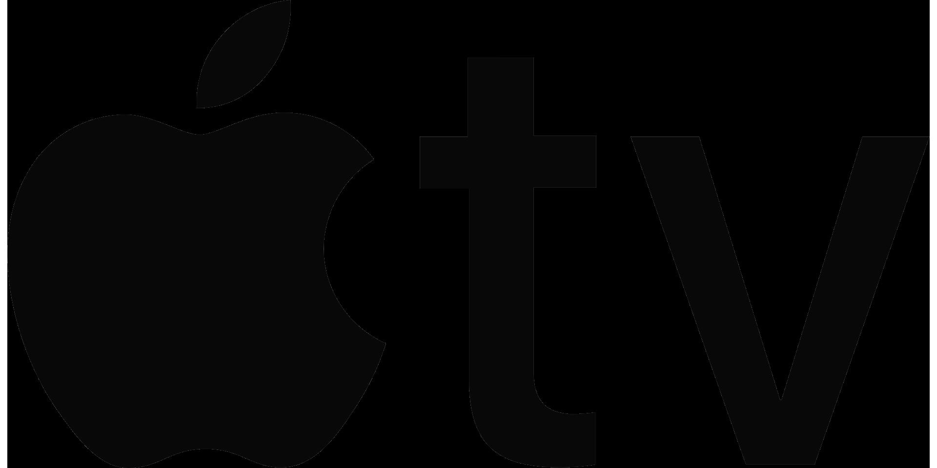 Apple_TV logo black