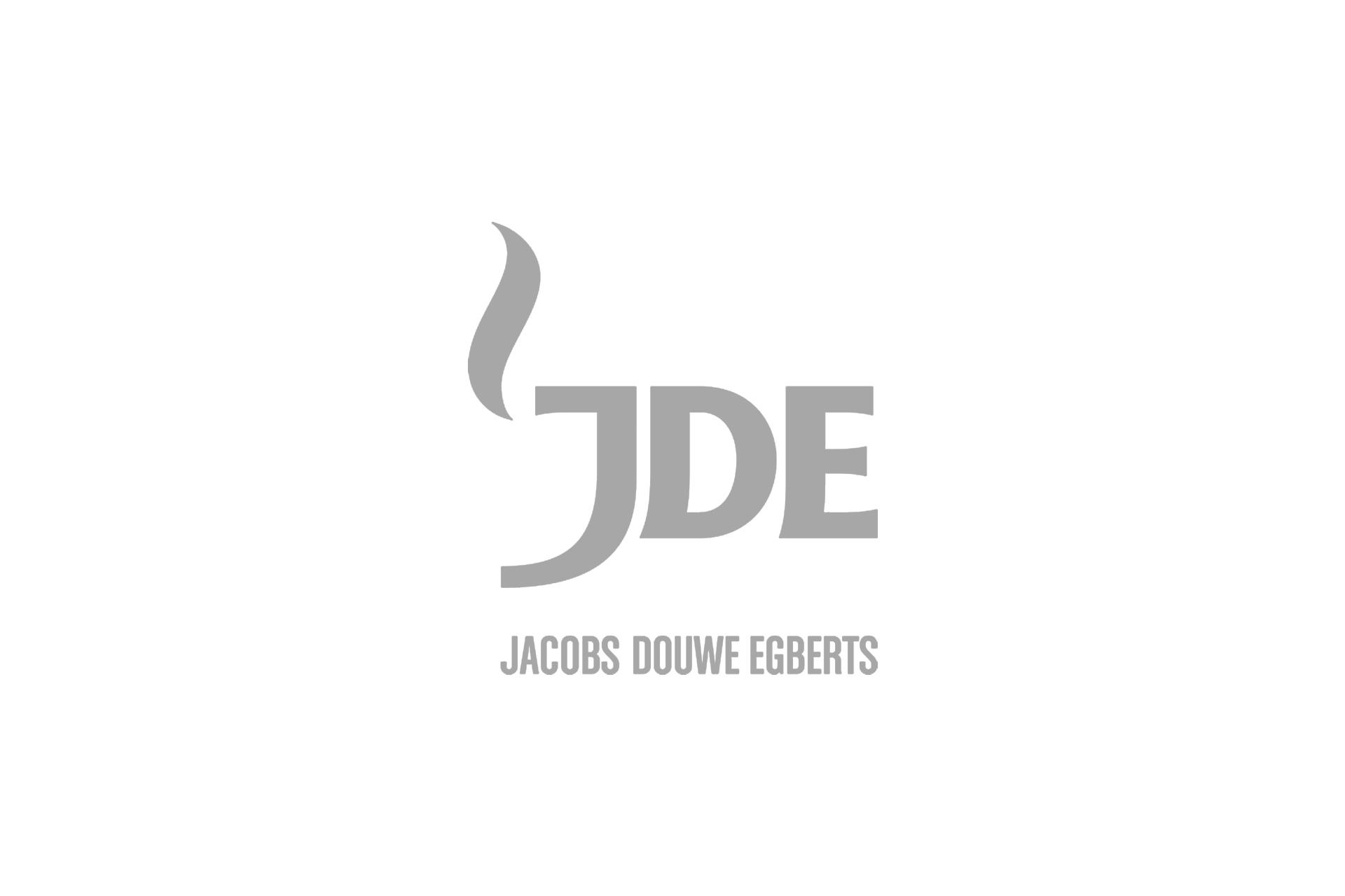 JDE logo grey