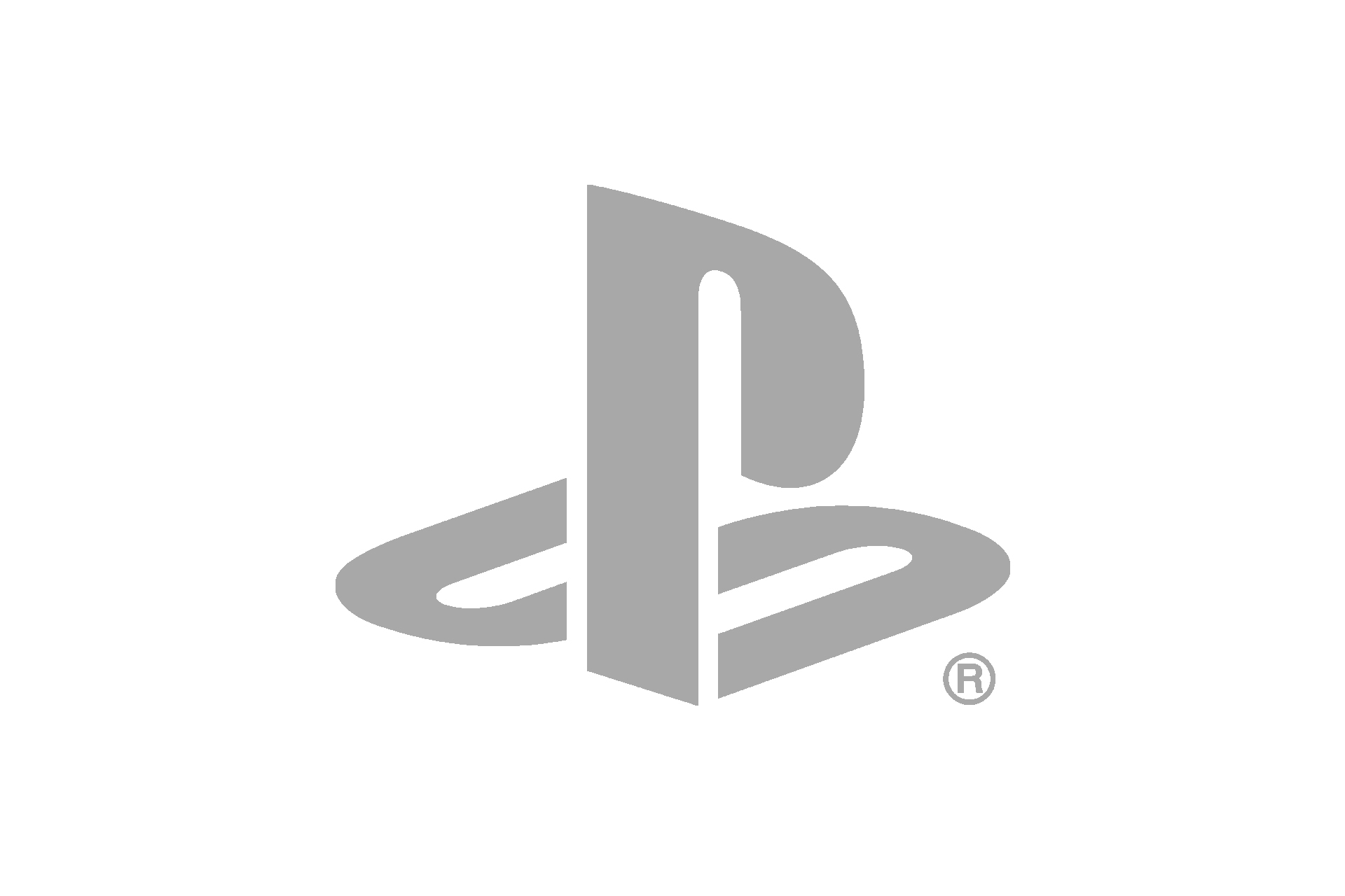 playstation logo grey