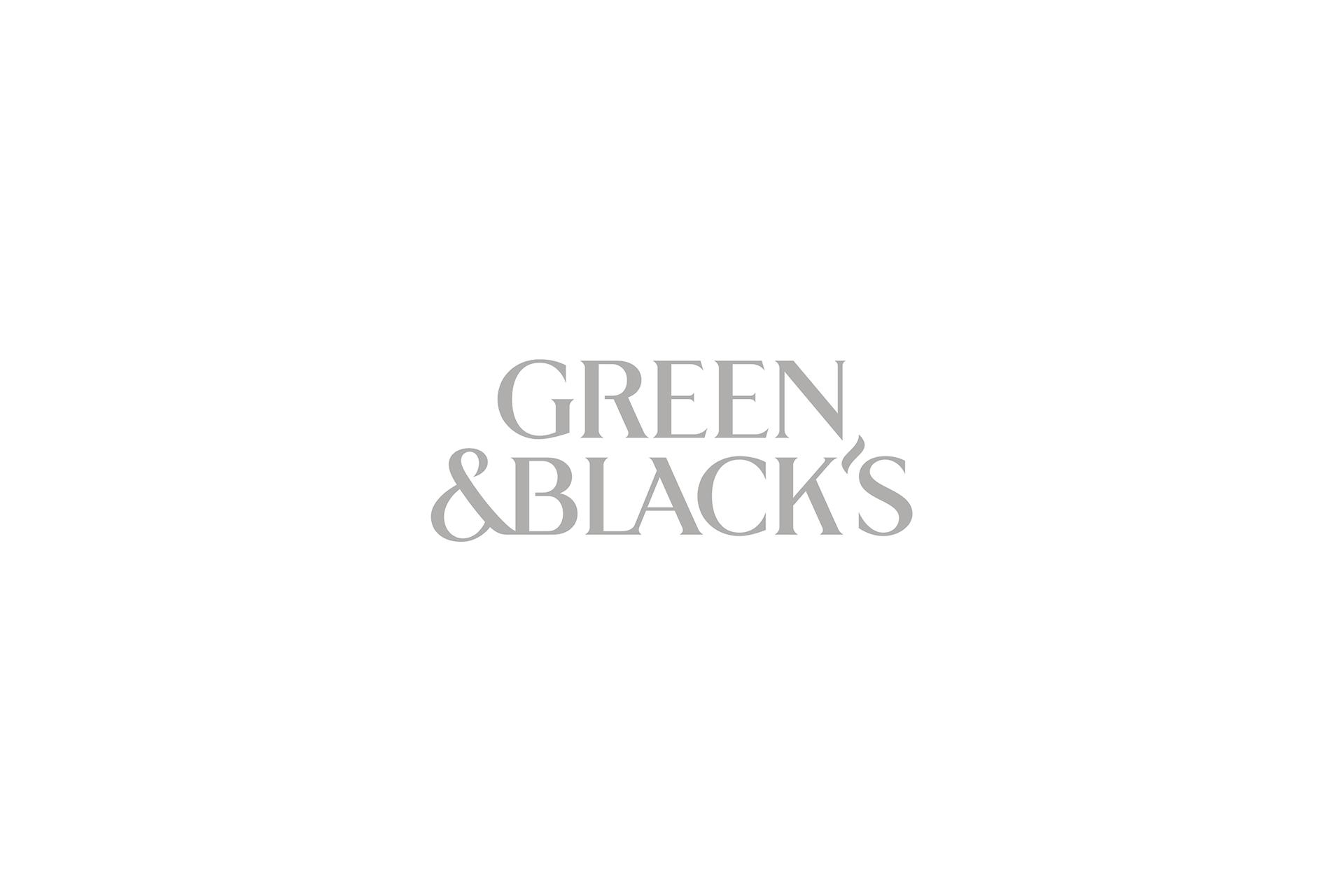 green and blacks logo grey