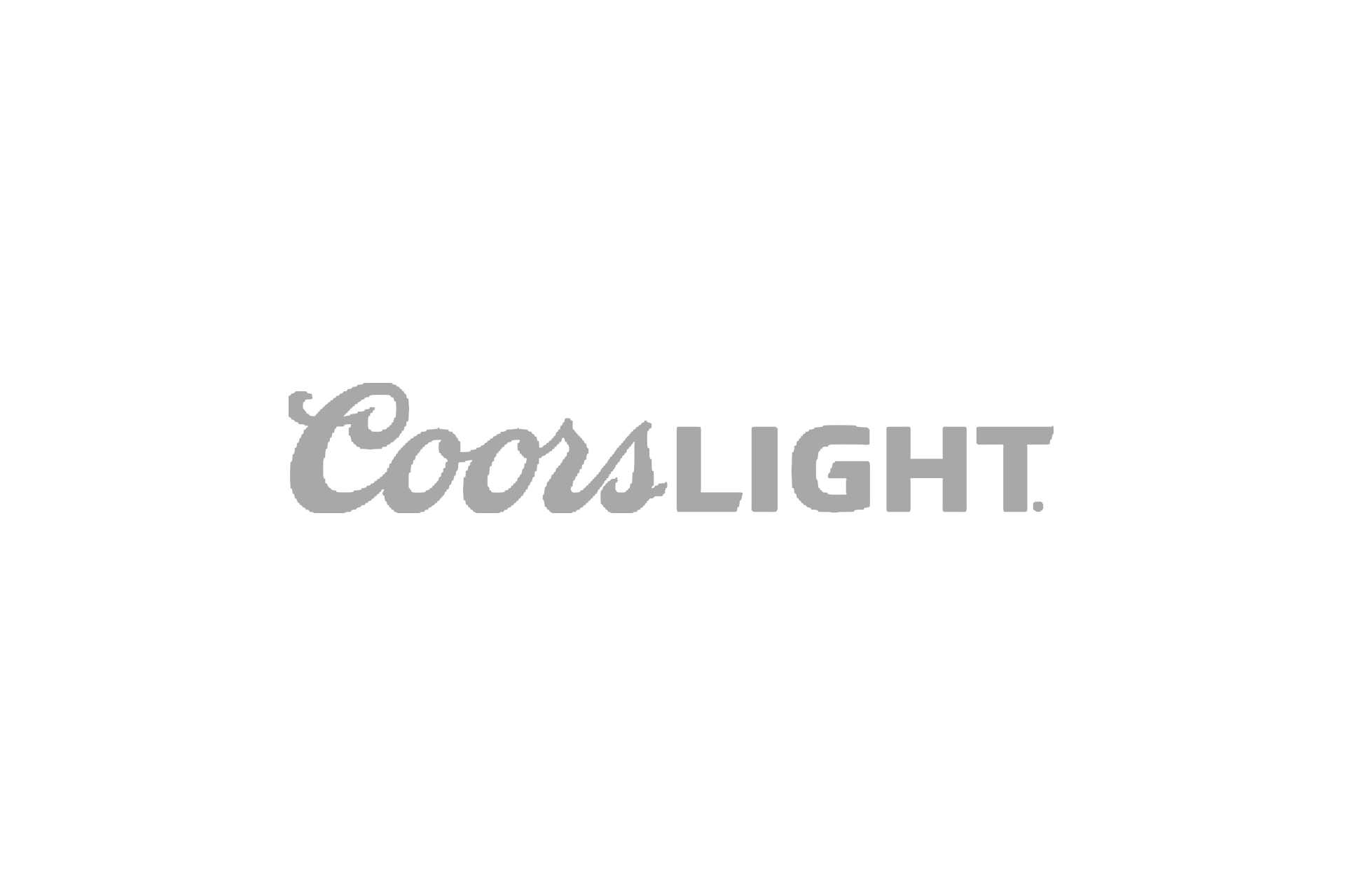 coors light logo grey