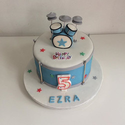 #drum set cake#birthday cake#mercelascakeworld#