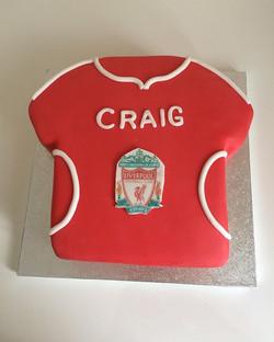 #football Tshirt cake#chocolate fudge ca