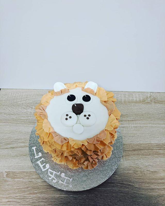 Cute lioness Cake
