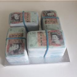 #£50 note cake#money cake#mercelascakewo
