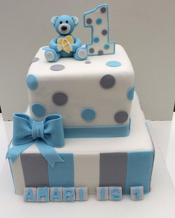 #teddy bear cake, #bowcake #number 1 cake#square cake