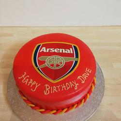 arsenal cake