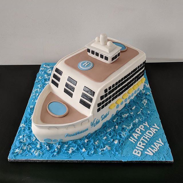 Royal Caribbean Cruise Ship Birthday Cake