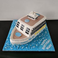 Royal Caribbean Cruise Ship Birthday Cake