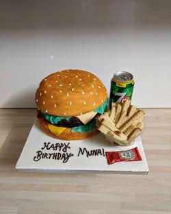 #cheeseburgercake #burgercake #hamburger