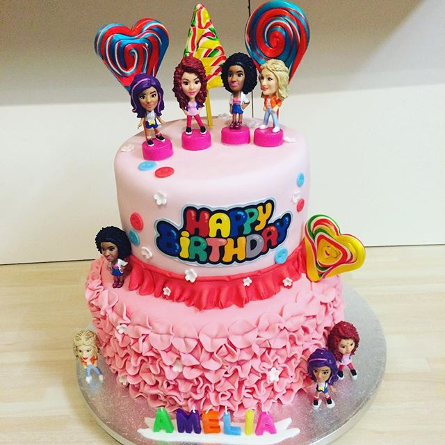Little mix cake