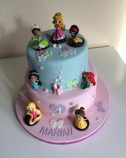 #Disney princess cake#redvelvet cake#Vic