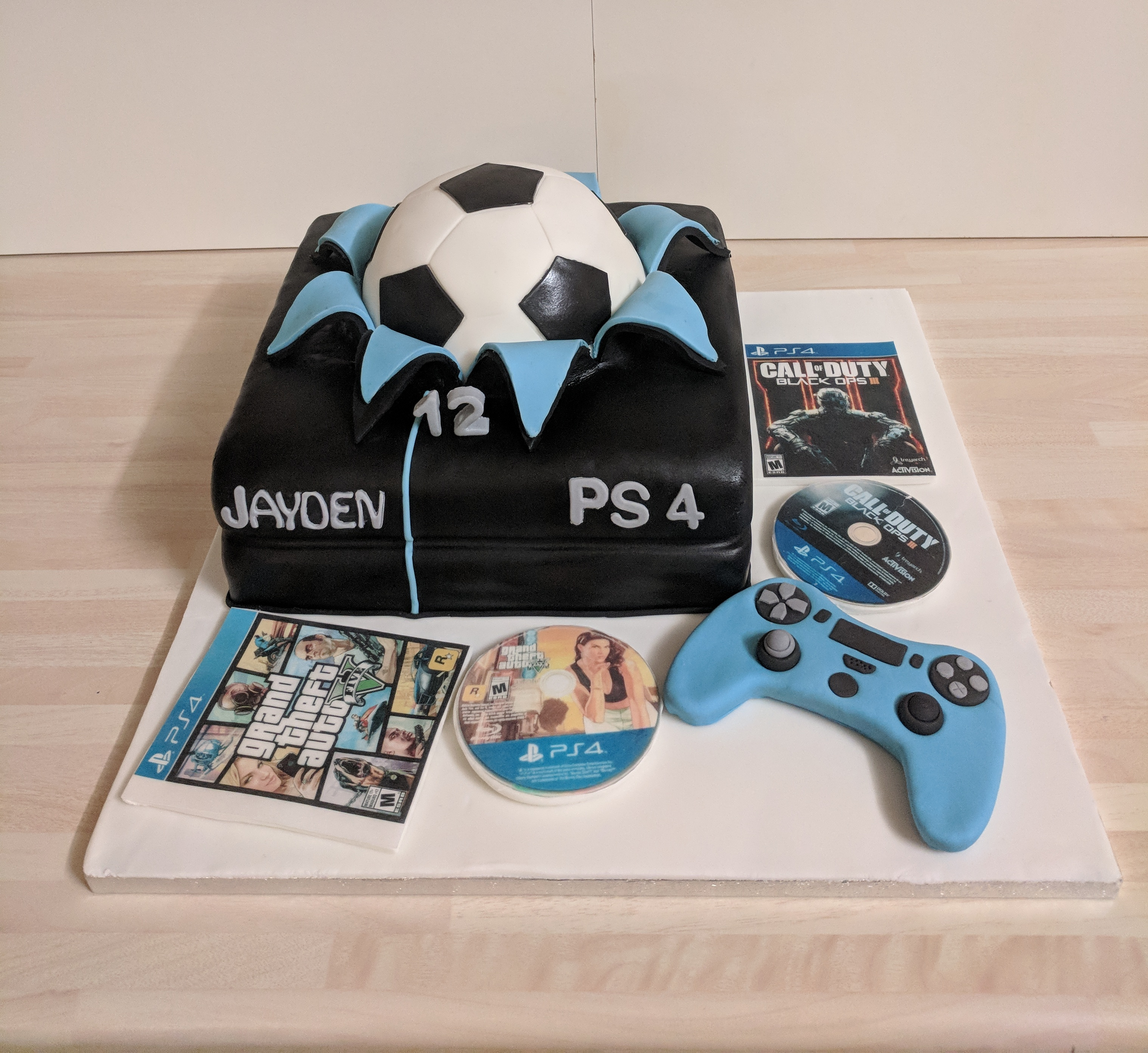 Playstation-cake