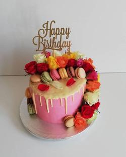 Carrot Drip cake