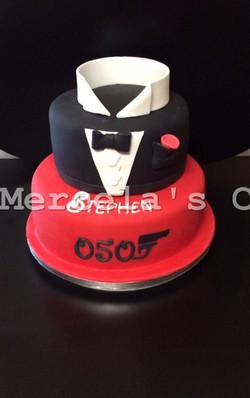 James Bond Cake