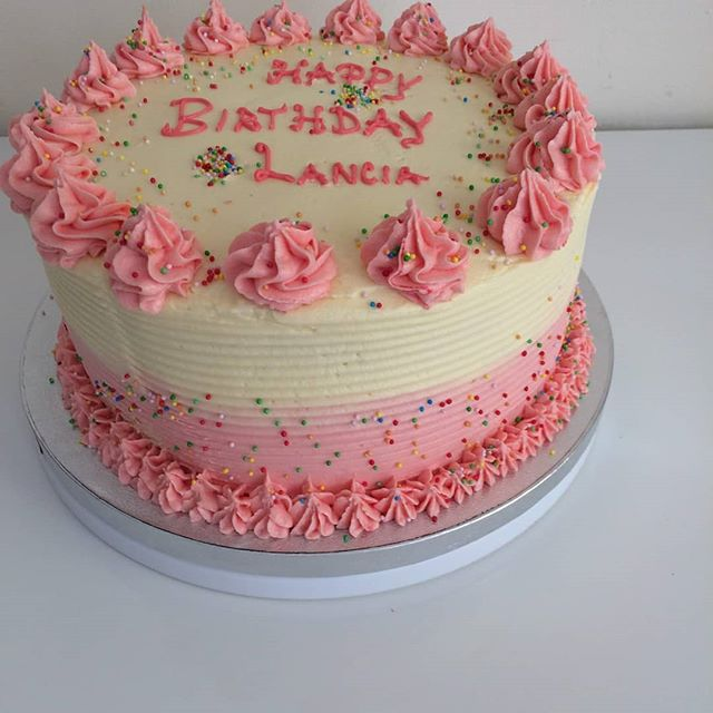 #buttercream cake#