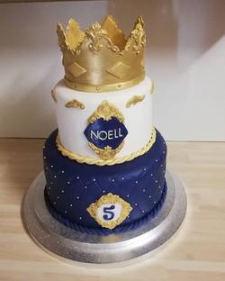 Gold Crown Cake