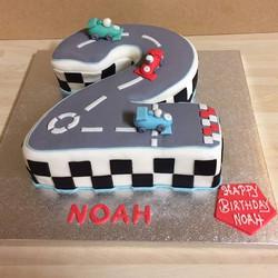 #number 2 cake#mercela's cake-world