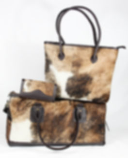 Bethany Rae Cowhide Accessories