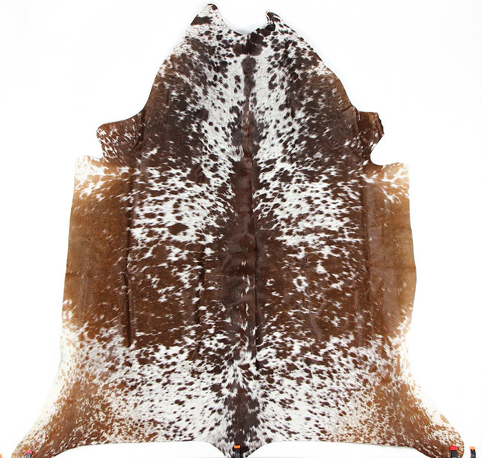 Chocolate Caramel Cowhide Rug - Large