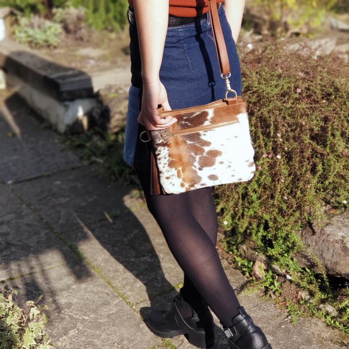 The Tarrant Cowhide Multiway Bag
