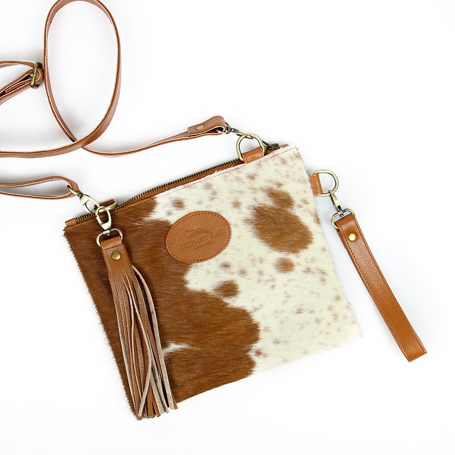 The Tarrant Cowhide Multiway - Caramel