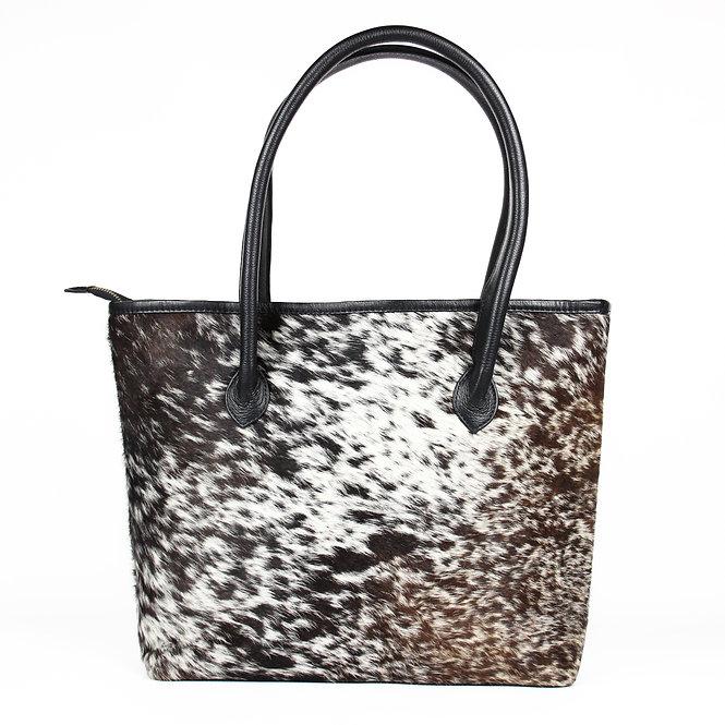 The Upton Handbag - Black & Brown