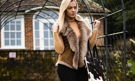 Bethany Rae Sheepskin Toscana Gilet Jacket