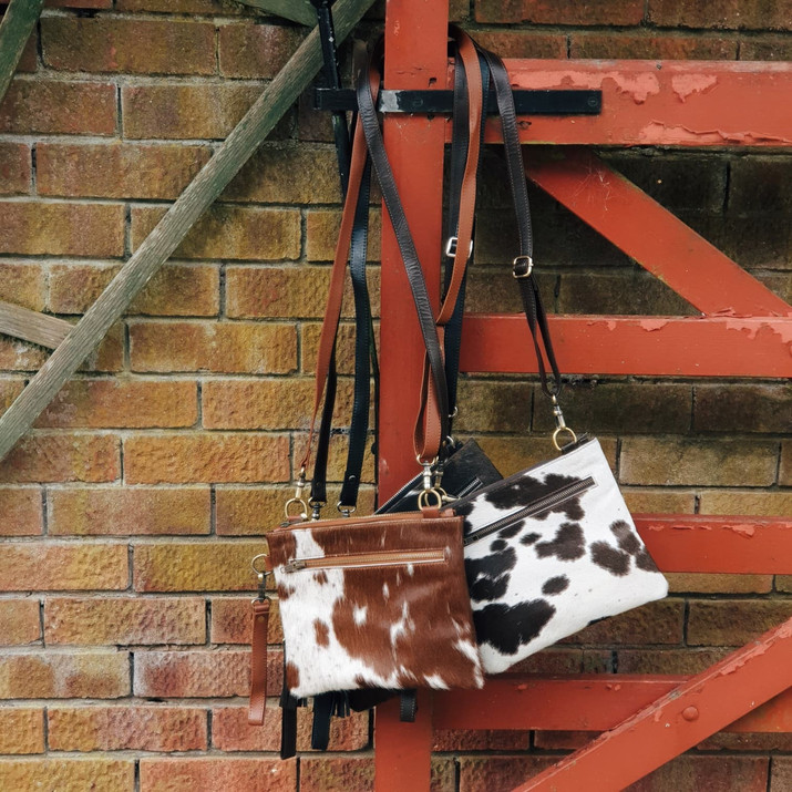 The Tarrant Multiway Bags in Cowhide
