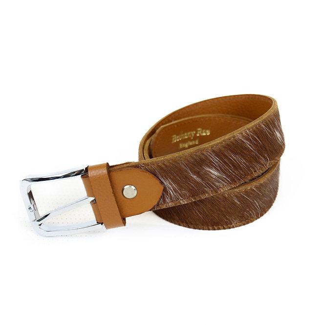 SALE The Blandford Cowhide Belt - Caramel