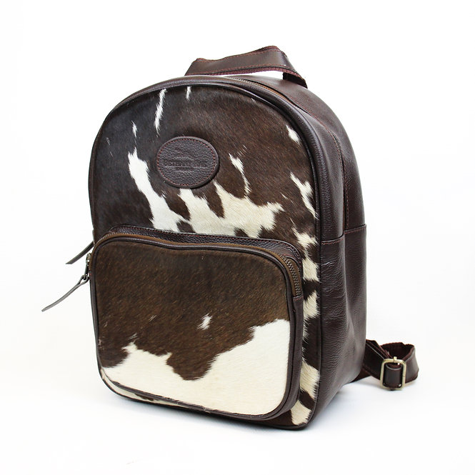The Abbotsbury Cowhide Rucksack - Brown