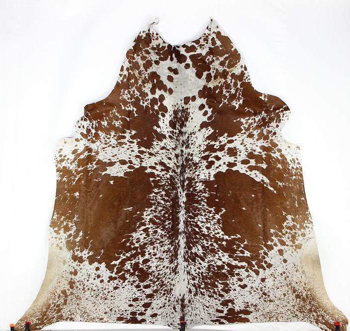 Caramel Speckled Cowhide Rug - Large