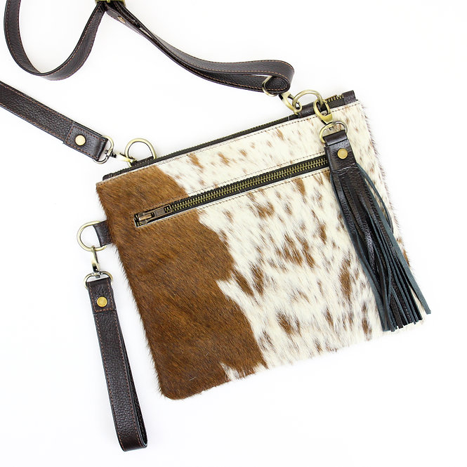 The Tarrant Cowhide Multiway - Brown